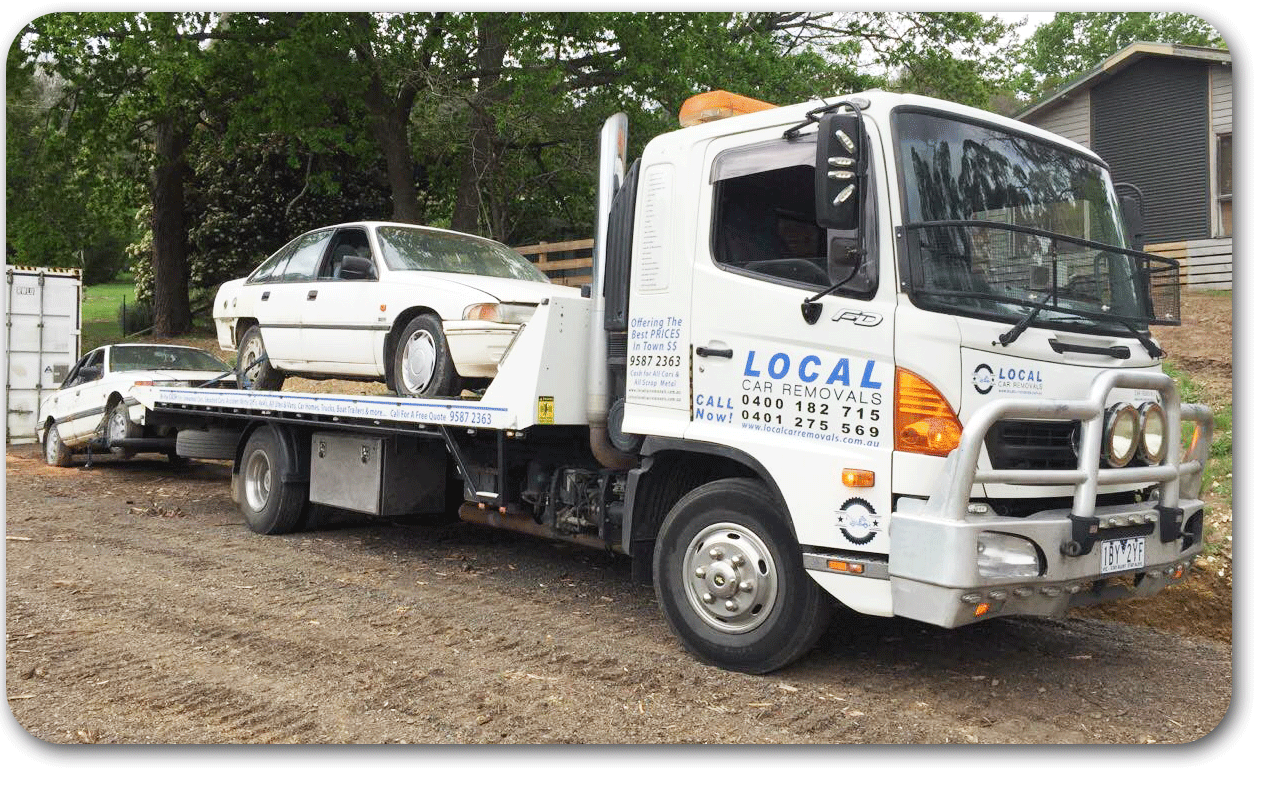 Old Car Removal Melbourne   Cash for Scrap Cars - Metal Pick up